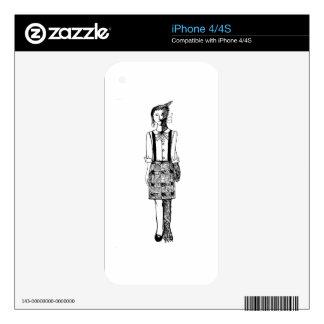 Foxgirl Skins For The iPhone 4S
