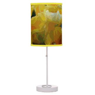 Foxglove amarillo lámpara de escritorio