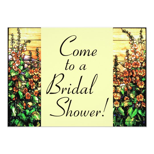 Foxglove Bridal Shower Invitation