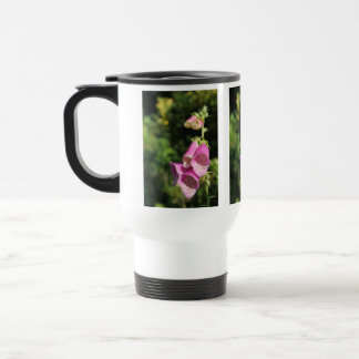 Foxglove Flowers. Travel Mug