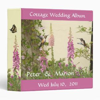 Foxglove Habitat Cottage Wedding Album Binder