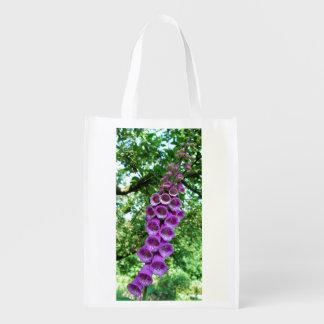 Foxglove shopping bag