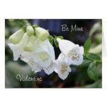 Foxglove Valentine Greeting Card