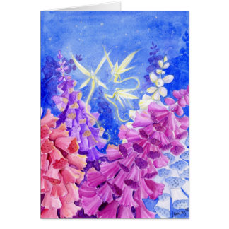 Foxglove Valley Greeting Card
