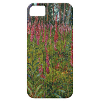 Foxgloves, c.1916 (oil on canvas) iPhone SE/5/5s case