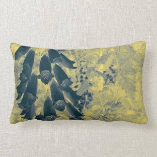 Foxgloves in Disguise Lumbar Pillow