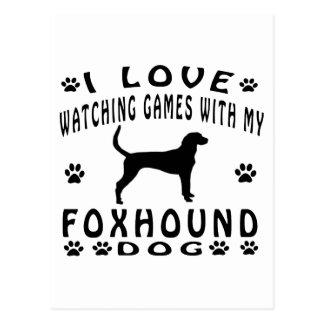 Foxhound designs postcard