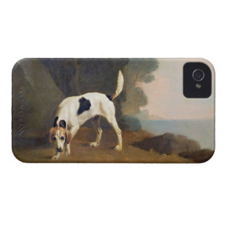 Foxhound on the Scent, c.1760 (oil on paper laid o iPhone 4 Case