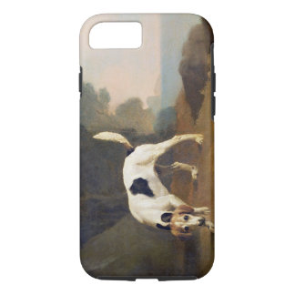 Foxhound on the Scent, c.1760 (oil on paper laid o iPhone 7 Case