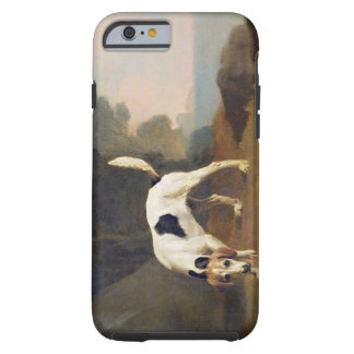 Foxhound on the Scent, c.1760 (oil on paper laid o Tough iPhone 6 Case