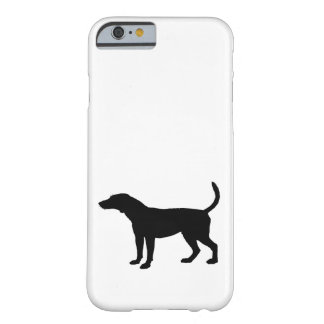 Foxhound Silhouette Barely There iPhone 6 Case