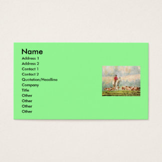 Foxhunt Business Card