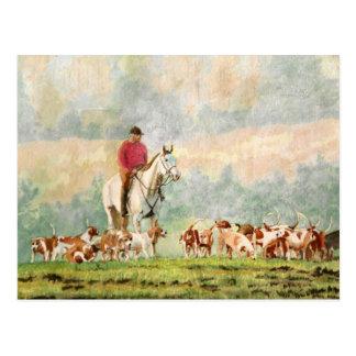 Foxhunt Postcard