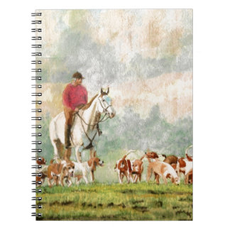 Foxhunt Spiral Notebook