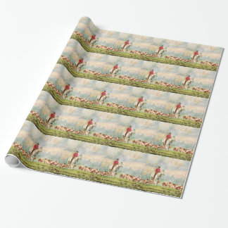Foxhunt Wrapping Paper