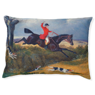 Fox Hunt Horses Riders Hounds Throw Blanket Gift Woven not Printed 183cm x 137cm