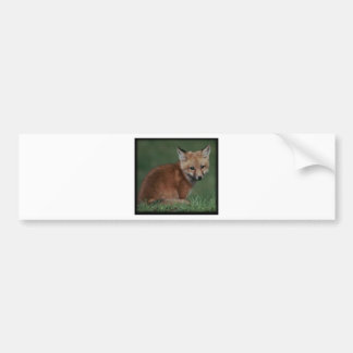 foxkit bumper sticker