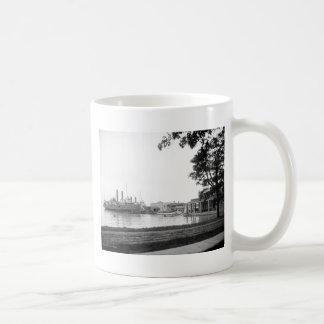 Fox's Dock, Put-in-Bay, Ohio: 1906 Coffee Mug
