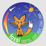 FOXSI 2012 CLASSIC ROUND STICKER