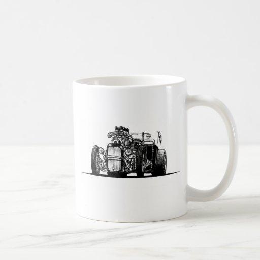 Foxtail Classic White Coffee Mug