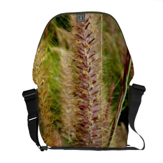 Foxtail grass macro photography picture courier bag