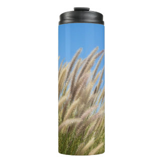 Foxtails on a Hill Thermal Tumbler