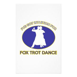 foxtrot design stationery design