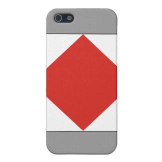 Foxtrot (F) Signal Flag iPhone SE/5/5s Case