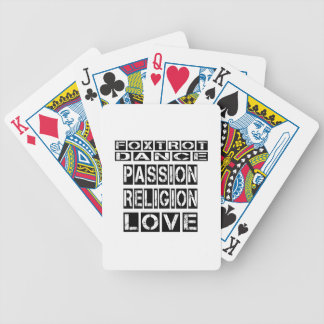 Foxtrot los diseños cartas de juego