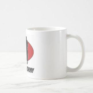 Foxtrot los diseños de la danza taza de café