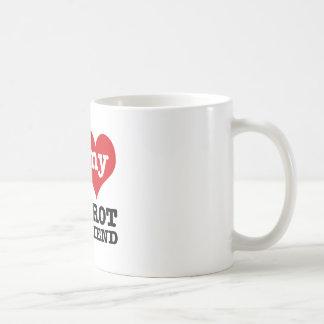 foxtrot los diseños de la novia de la danza tazas de café