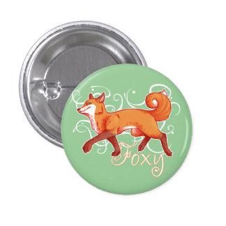 Foxy 1 Inch Round Button