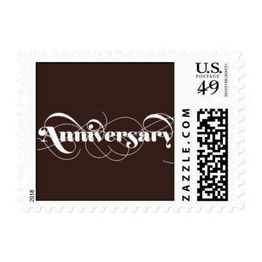 Foxy - Anniversary - Brown Postage