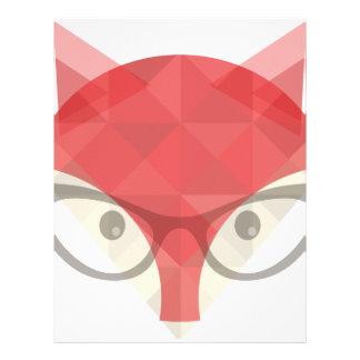 Foxy Apparel Logo Letterhead Design