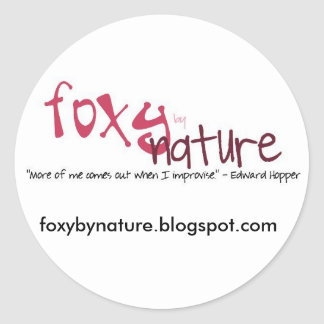 Foxy by Nature Stickers