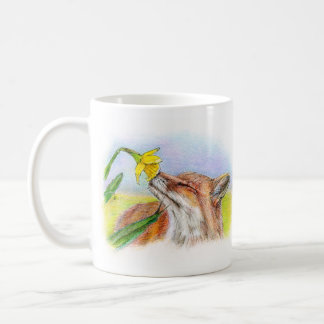 Foxy Classic White Coffee Mug