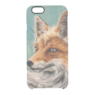 Foxy Clear iPhone 6/6S Case