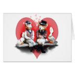 Foxy Couple (surprise inside!) Card