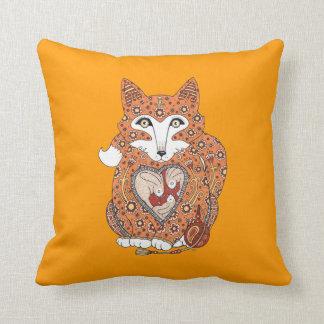 Foxy Decorative Throw Pillow