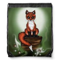 Foxy Drawstring Backpack