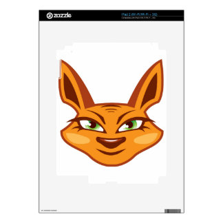 Foxy Face iPad 2 Skin