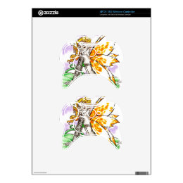 Foxy Fairy Skin for XBox360 Xbox 360 Controller Decal