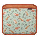 Foxy Floral iPad Sleeve