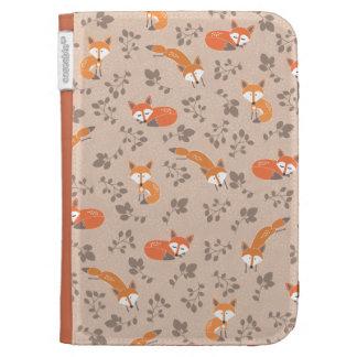 Foxy Floral Kindle Case