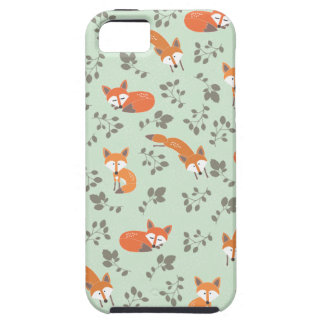 Foxy Floral Pattern iPhone 5 Case