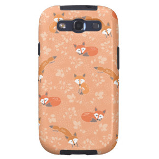 Foxy Floral Pattern Samsung Galaxy S3 Cover