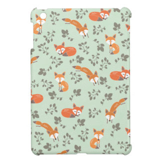 Foxy Floral Pattern Case For The iPad Mini