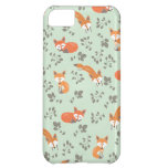 Foxy Floral Pattern iPhone 5C Cover