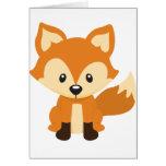 Foxy fox card
