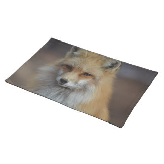 Foxy Fox Cloth Placemat